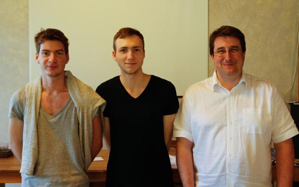 Fynn, Jonas und Alain